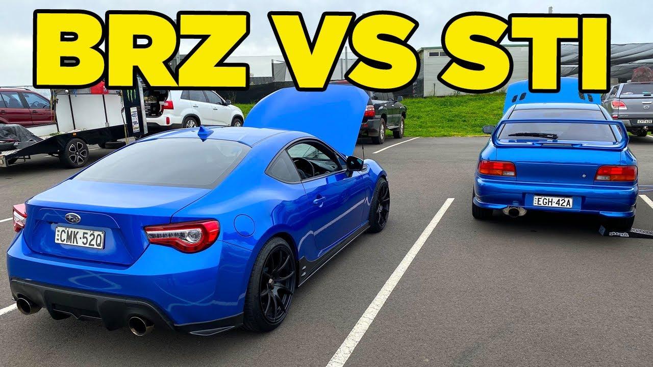 BRZ vs WRX STI - ReMatch [Disrespected Emotion]
