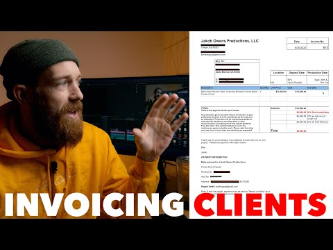 HOW TO PROPERLY INVOICE CLIENTS!