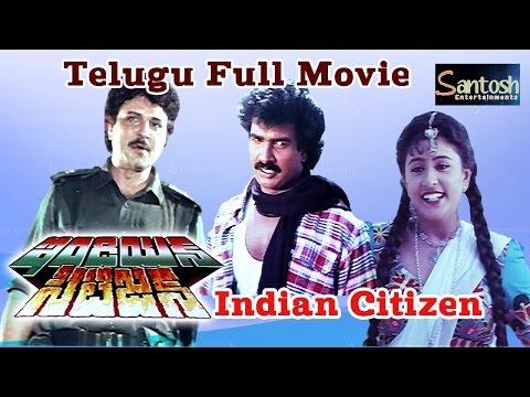 Indian Citizen  ఇండియన్ సిటిజెన్    Telugu Full Movie    Arun Pandiyan   Sharath Babu