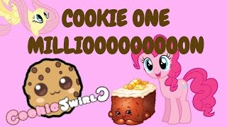 cookie 1 million subscribers for cookie swirl c old video