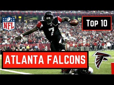 Top 10 Atlanta Falcons in NFL History