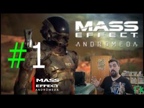 Let´s Play Español Mass Effect Andromeda Episodio1