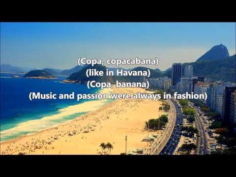 Copacabana   Barry Manilow   Lyrics