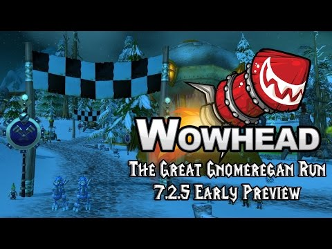 The Great Gnomeregan Run - 7.2.5 Early Preview
