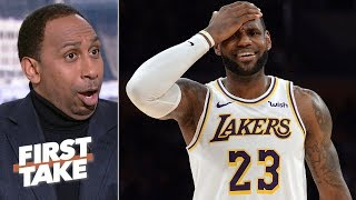 'This is what drives me crazy!' - Stephen A. on newfound information on LeBron's injury | First Take