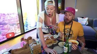 Korean Fried Chicken Mukbang - Simon and Martina Return to Korea