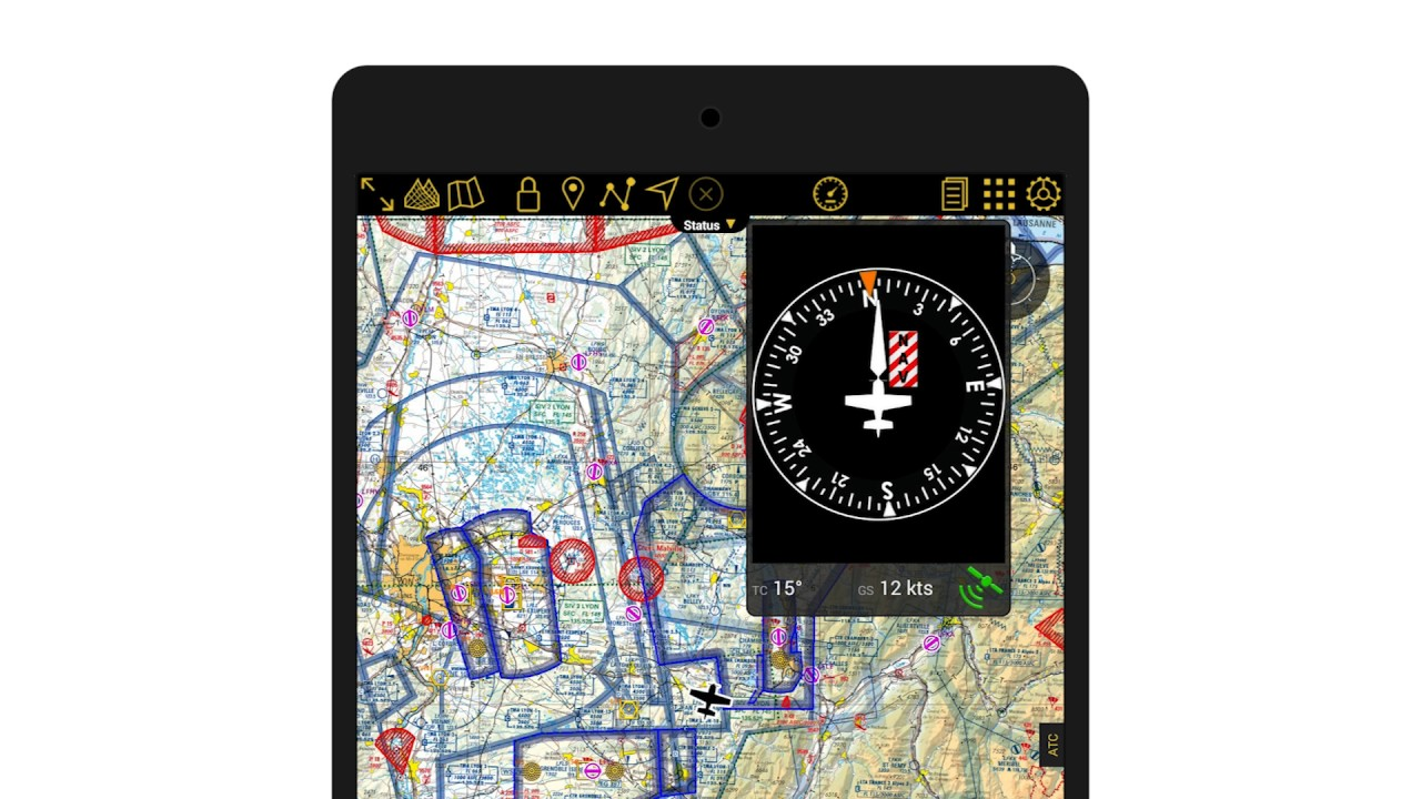 AIR NAVIGATION PRO ANDROID - SD CARD, GPX, COMPASS