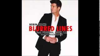 Robin Thicke - Blurred Lines (Ft. Miley Cyrus, Pharrell Williams & T.I.)