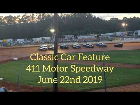 Classic Car Feature at 411 Motor Speedway June 22nd 2019