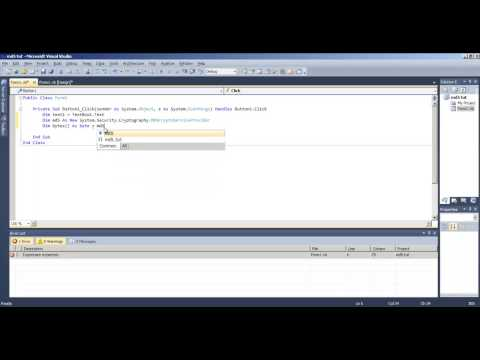 String To MD5 Hash In Visual Basic