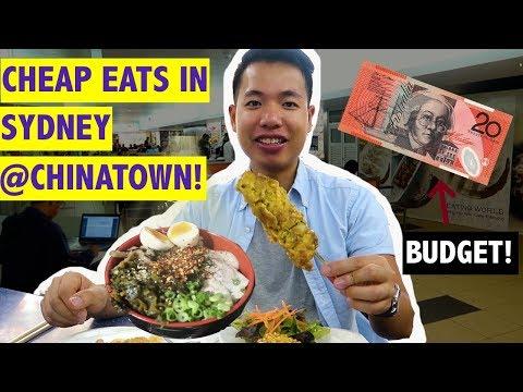 SYDNEY CHEAP EATS FOR UNDER A$20 @ CHINATOWN - Hidden Menu Item At Gumshara Ramen?