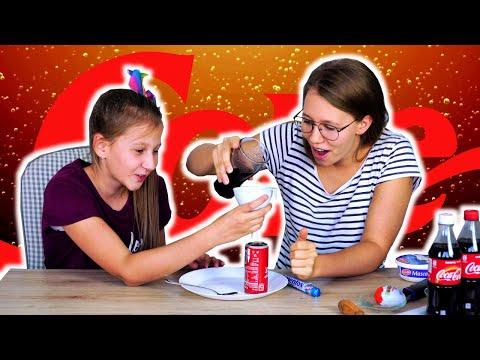 Test LIFEHACKÓW z COCA COLĄ! ✮ Zwariowani Testują #3