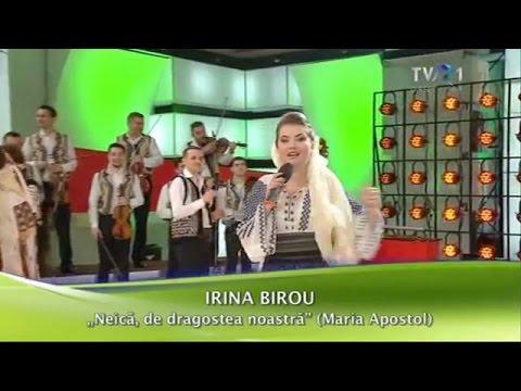 Irina Birou - Neică, de dragostea noastră (Cu drag... de Dragobete - TVR1)
