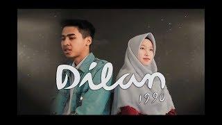 Gambar cover OST. Dilan - Rindu Sendiri (Putih abu-abu ft. Jusman Moyuma Cover)