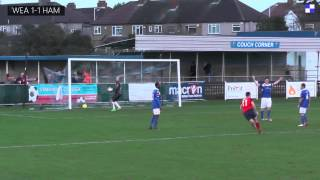 Wealdstone FC vs. Hampton and Richmond Borough FC (28/12/13)