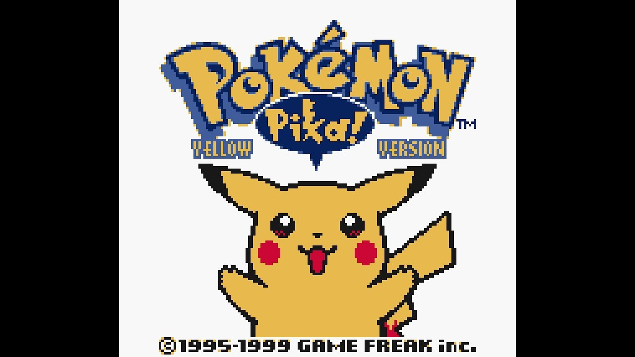 Pokemon Yellow Version playthrough ~Longplay~