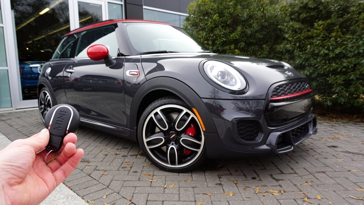 2019 Mini John Cooper Works Hardtop Start Up Exhaust Test Drive