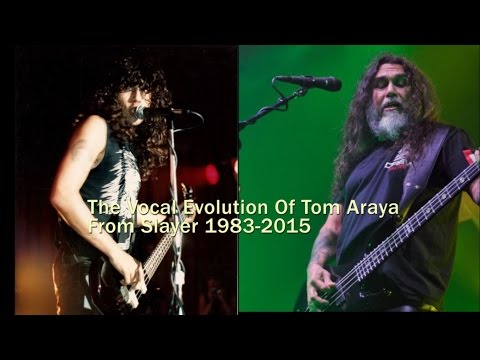 THE VOCAL EVOLUTION OF: Slayer's Tom Araya 1983-2015