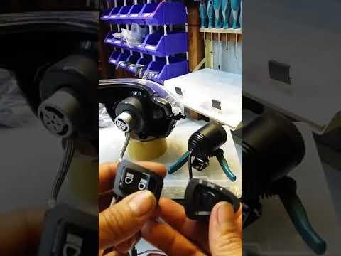Mạch passing SH cho đèn pha chính và trợ sáng với 3 chế độ.