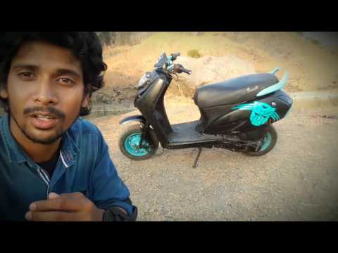 scooter modified in india - activa modified - vlogs bullet singh