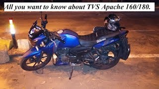 All You Want To Know About TVS Apache 160 180 Mileage Maintenance Pros Cons Etc
