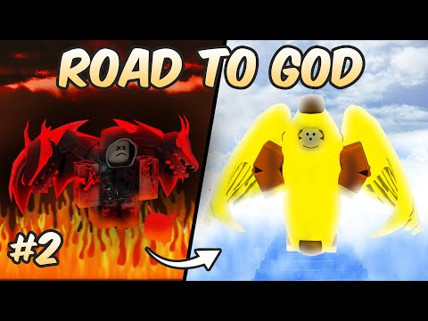 Becoming A Light! Road To God #2 (Super Power Fighting Simulator)
