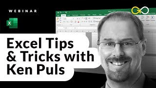 Excel Tips & Tricks with Excel Guru Ken Puls via GoSkills Excel