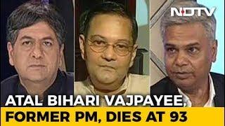 Nation Mourns Former PM Atal Bihari Vajpayee's Loss