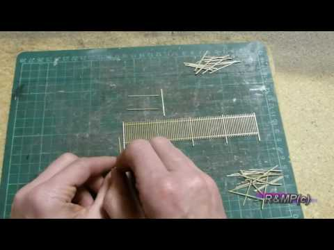 Building a Model Railway – (Part 1) Laser Cut Fence Kit