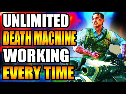 BLACK OPS 3 *EASY* UNLIMITED DEATH MACHINE GLITCH! - GET IT WORKING EVERY TIME!