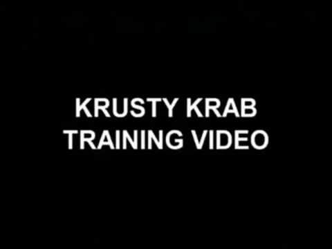 Krusty Krab Traning Video 2004 Nick At Night ScreenBug