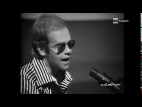 Elton John - crocodile rock ( live 1973 )