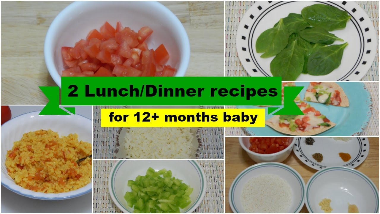 2 easy healthy lunch/dinner ideas! quick meal recipes for toddler