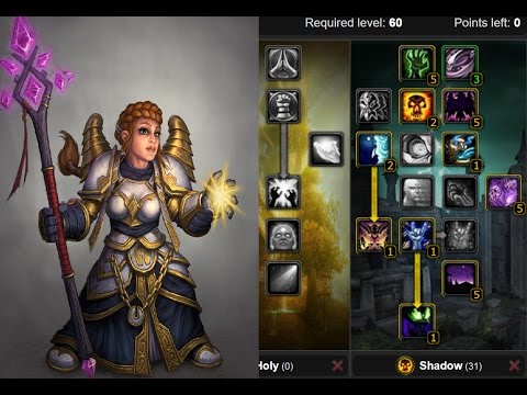 classic vanilla wow quick guide priest leveling talents. Black Bedroom Furniture Sets. Home Design Ideas