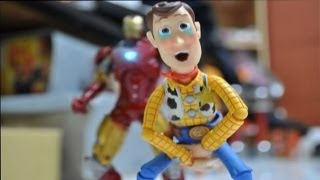 Iron man and Toy story stop motion The Ambush