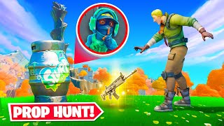 *SECRET* PROP HUNT in BATTLE ROYALE!