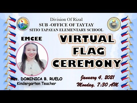 STES  VIRTUAL FLAG CEREMONY JANUARY 4, 2021 (7:30 AM)