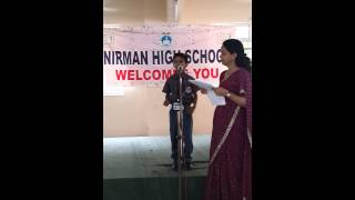 hindi poem recitation std 2