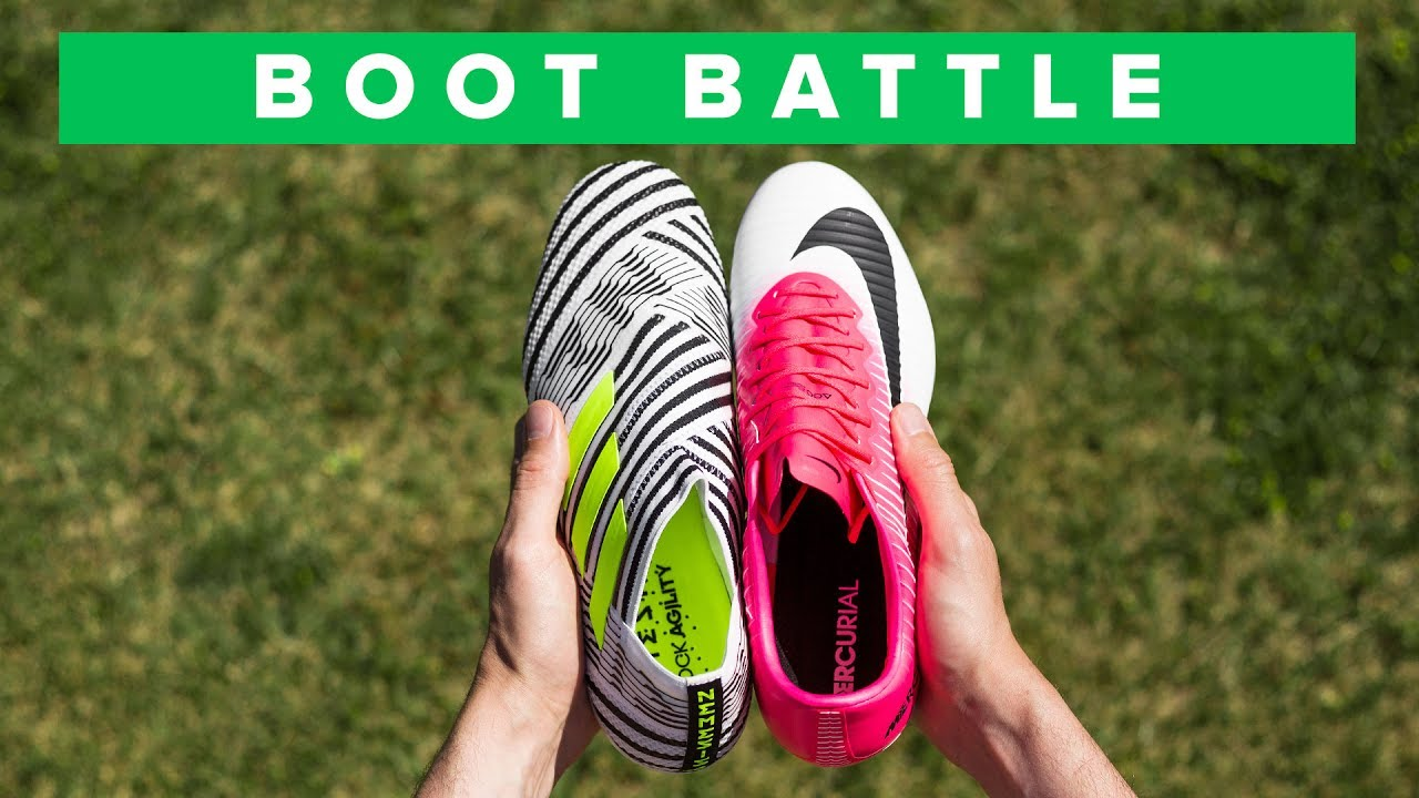 Nike Mercurial Vapor 11 vs adidas Nemeziz 17+  ff25b72cfb