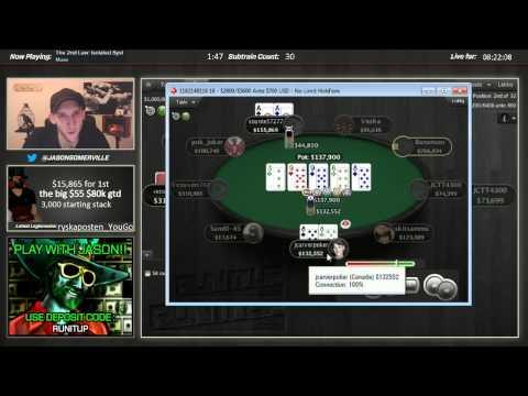 Jason Somerville Big55 80k GTD Pokerstars