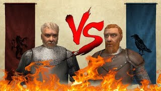 Mount & Blade: Warband King Harlaus VS King Ragnar