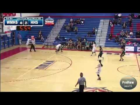 Girls BBall West Mesa vs Highland Highlights