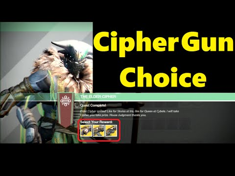 Destiny: Completing Queen's Cipher (2nd) + My Reward!!!!