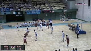 第95回関東大学バスケ2019リーグ戦1部第3節、筑波大学vs早稲田大学