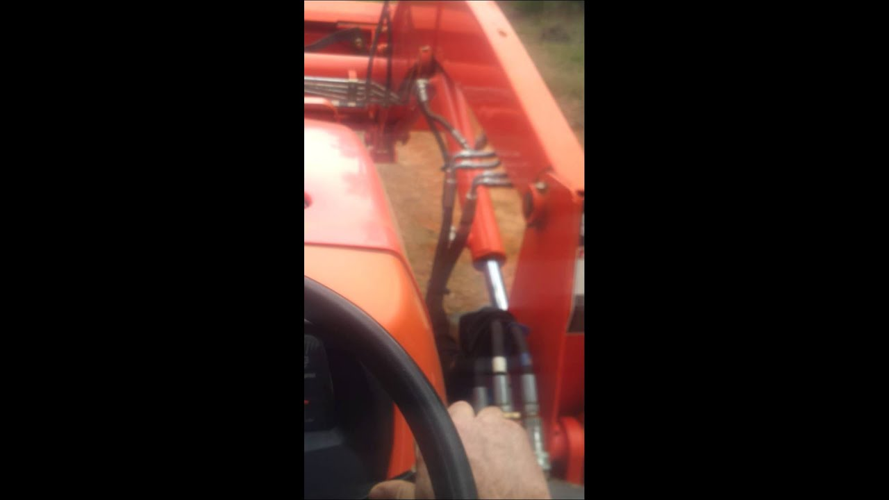 Hydraulic Problem On My Tractor Front End Loader Youtube