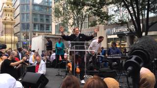 Rev.  Dr.  Nancy Wilson's prayer at multi faith service for People's Climate March,  21 Sep 2014