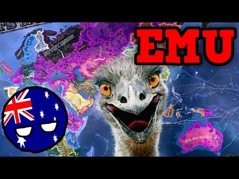 Hearts Of Iron 4 - But the Emus are your new overlord (EMU ONLY WORLD CONQUEST CHALLENGE) |