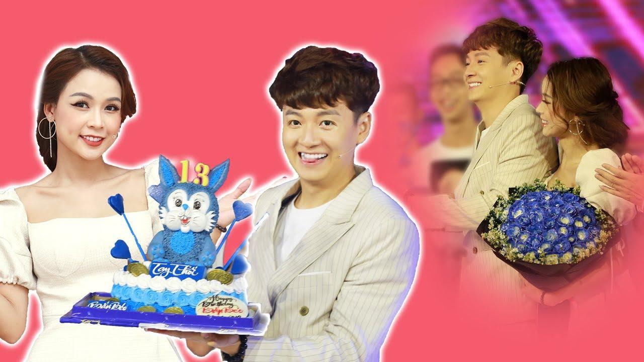 """""""Thỏ Đen"""" Ngô Kiến Huy CẢM ĐỘNG khi MC SAM và FC bí mật tổ chức sinh nhật lần thứ 13"""