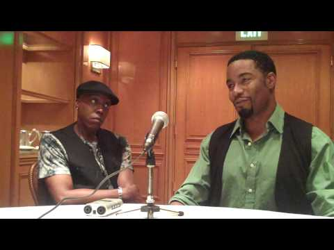 ARSENIO HALL & MICHAEL JAI WHITE ON THE MANY 'BLACK DYNAMITE' OPTIONS