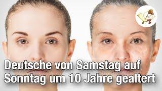 Mediziner rätseln: Deutsche von Samstag auf Sonntag um 10 Jahre gealtert